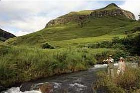 Giants Castle - Fly fishing in the central Drakensberg