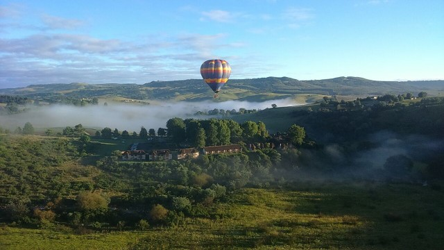 Drakensberg hot air ballooning