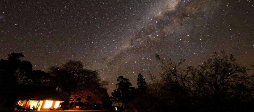 Add on a star gazing experience from a special star gazing hammock camp